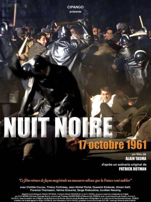 Nuit noire, 17 octobre 1961 - Affiche
