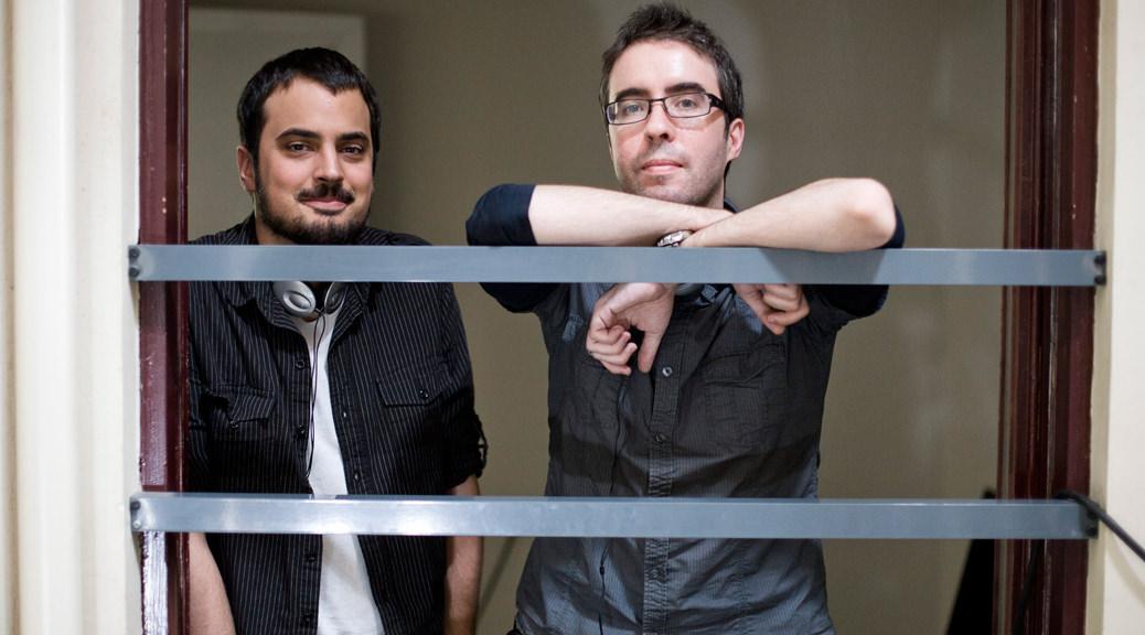 Alex et David Pastor - Image une interview