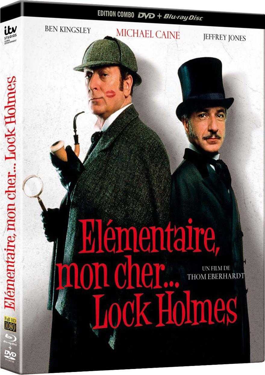 Elémentaire mon cher Lock Holmes - Jaquette Blu-ray