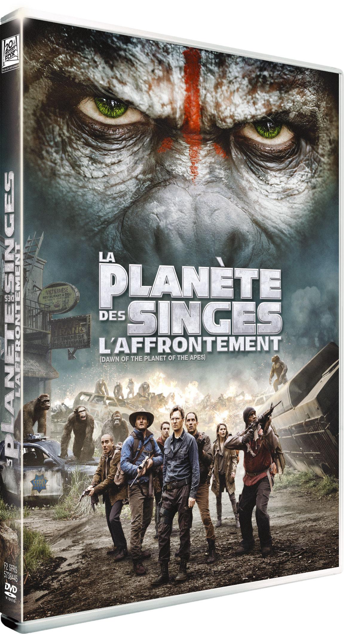 La Planète des singes : l'affrontement - DVD