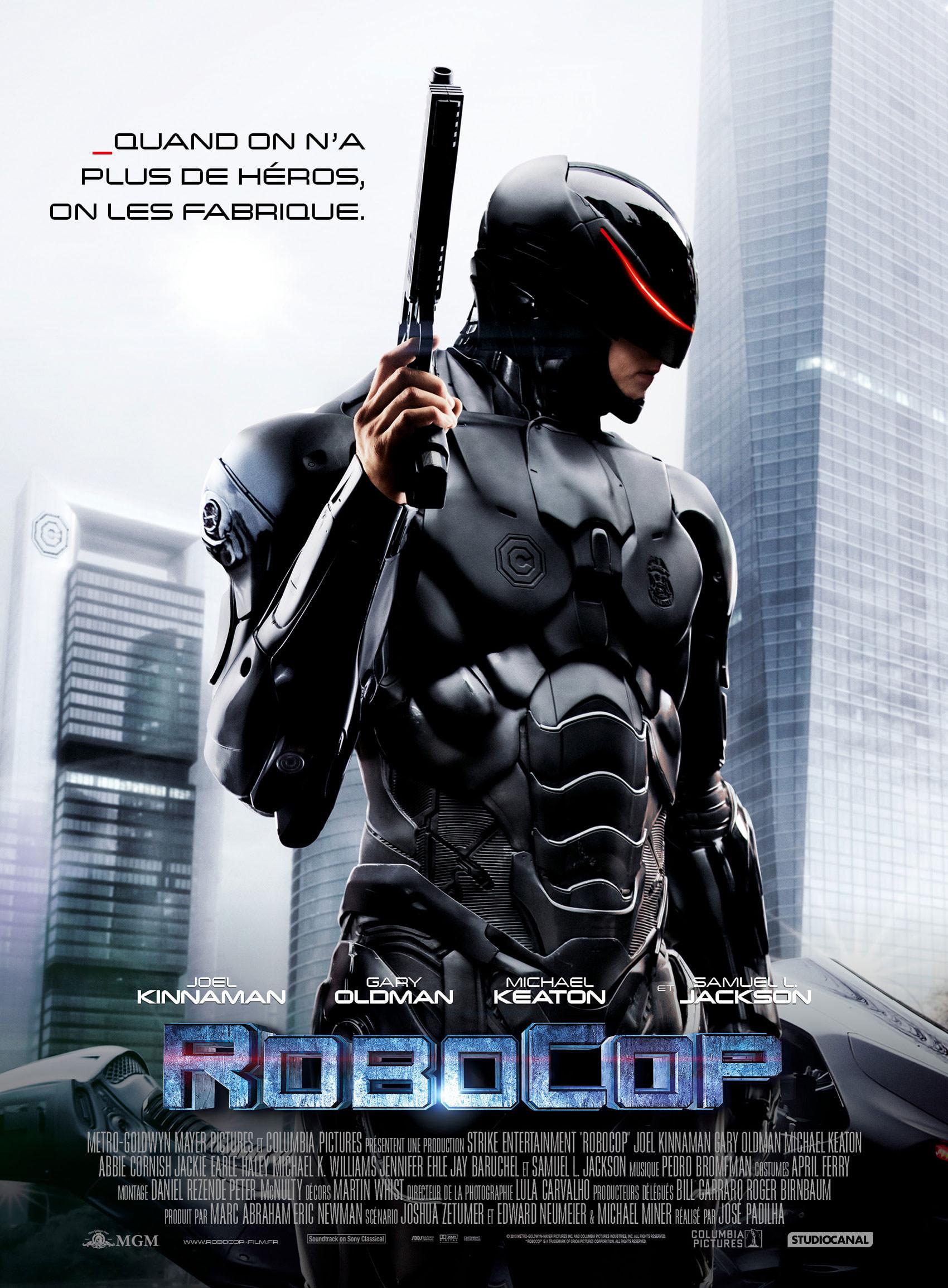 RoboCop 2014 - Affiche