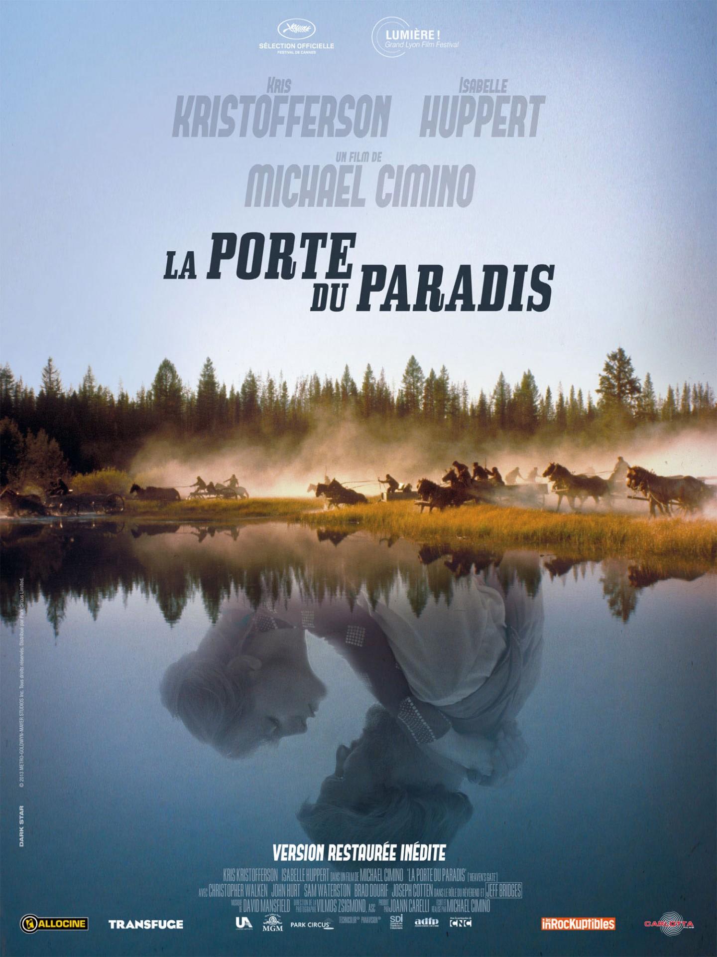 La Porte du paradis (1980) de Michael Cimino - Affiche ressortie 2014