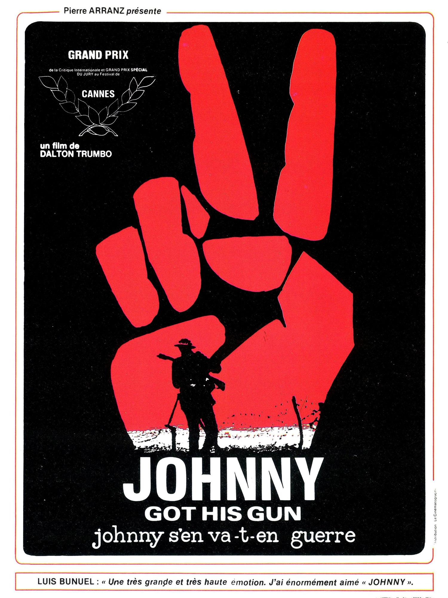 JOHNNY-GOT-HIS-GUN-Affiche-Française