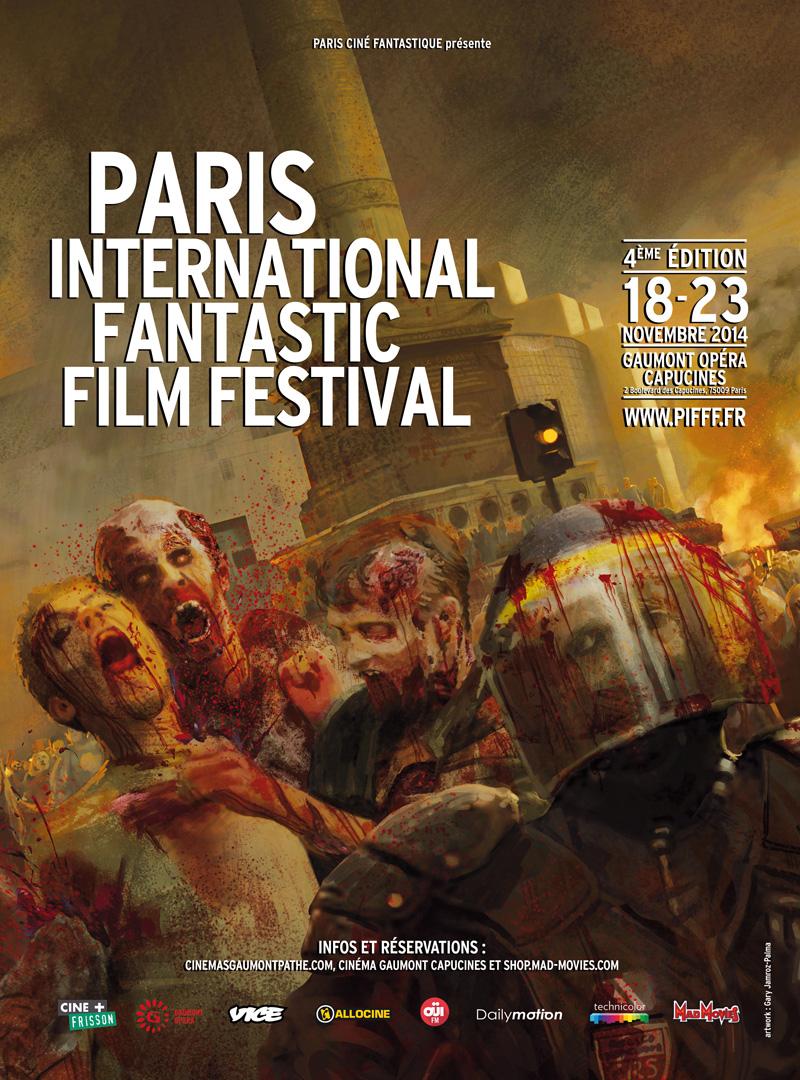 PIFFF 2014 Festival Film Fantastique Affiche