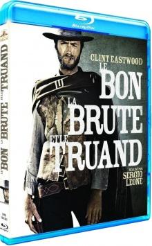 Le Bon, la Brute et le Truand (1966) de Sergio Leone - Packshot Blu-ray