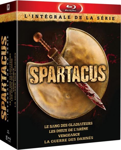 Spartacus - Intégrale Blu-ray