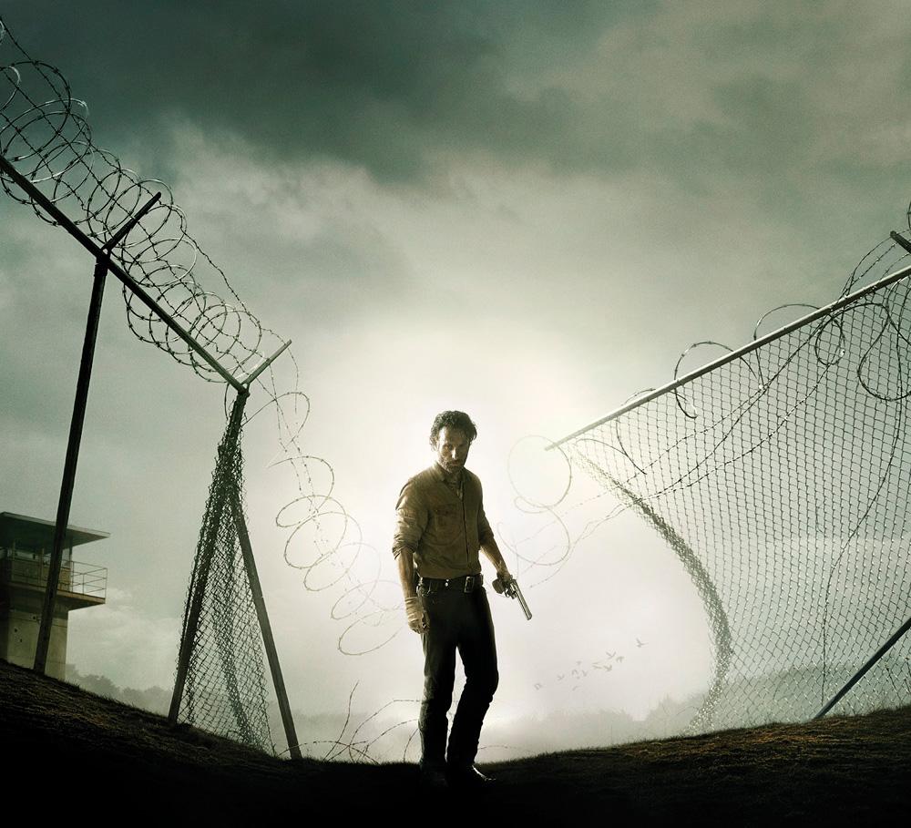 walking dead - saison 4 - affiche
