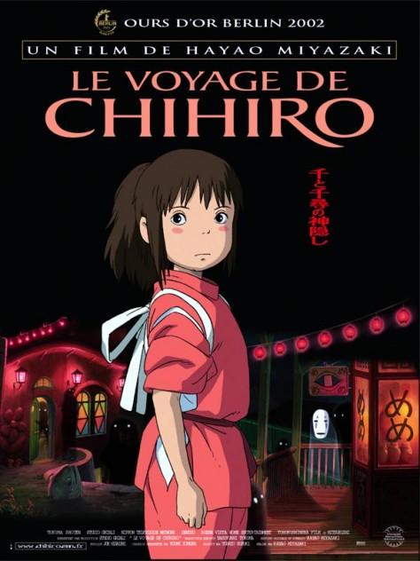 Le Voyage de Chihiro - Affiche