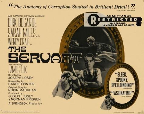 The-Servant-Affiche UK originale