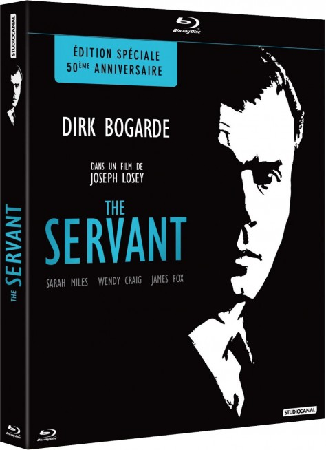 The Servant-Jaquette Blu-ray 3D