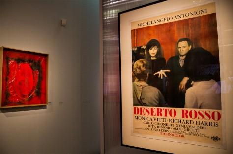 Exposition Antonioni - Le Désert rouge