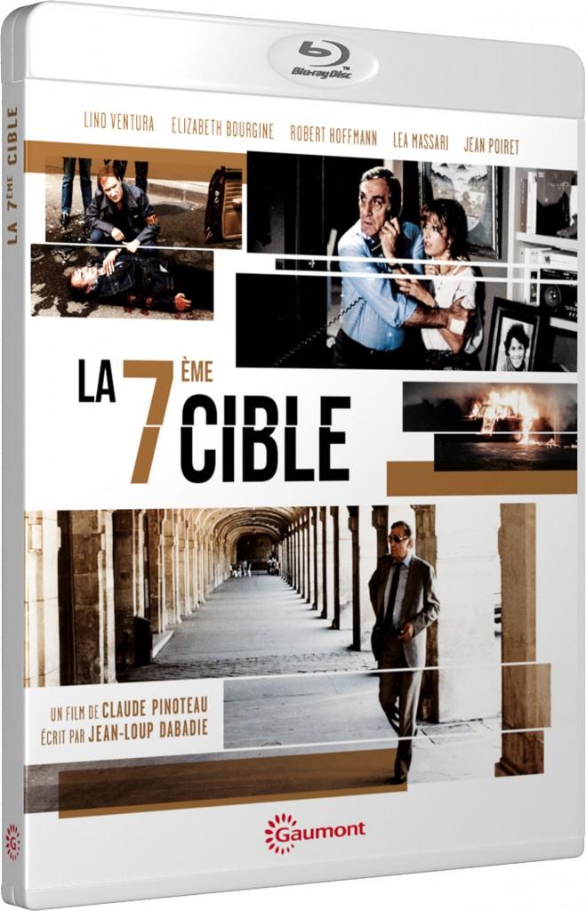 La Septième cible - Claude Pinoteau - Blu-ray - Packshot