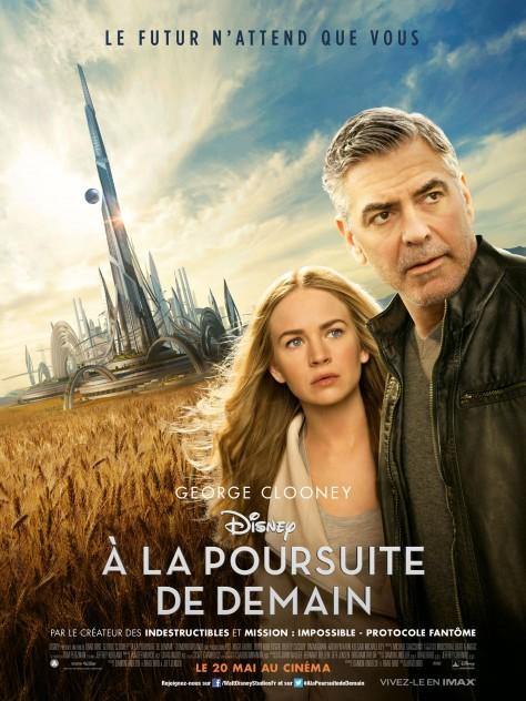 A La Poursuite de demain - Affiche France