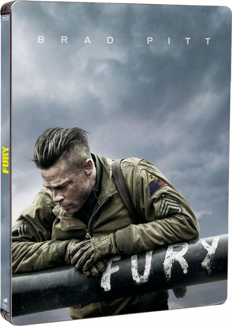 Fury - Jaquette Blu-ray