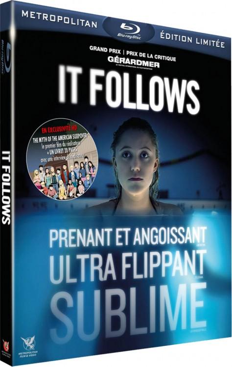 It follows - Packshot Blu-ray