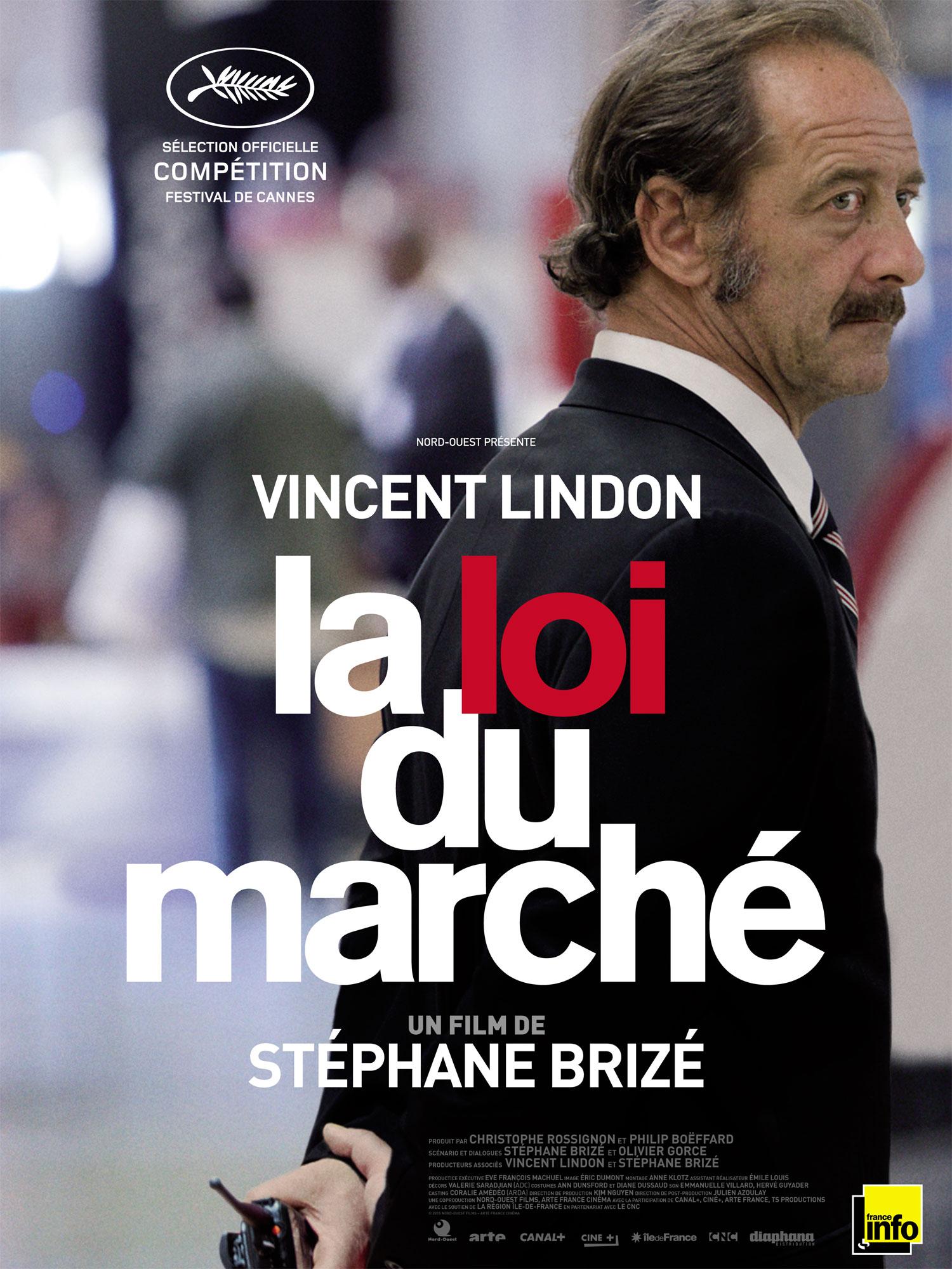 La Loi du marché - Affiche France