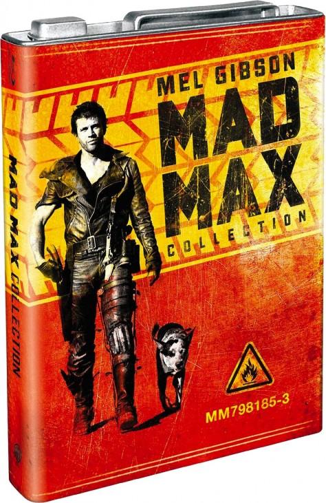 Mad Max - Blu-ray Warner Home Vidéo - Jaquette Intégrale