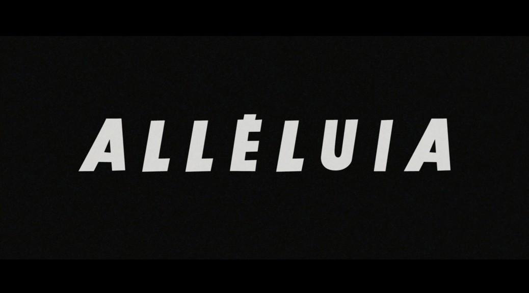 Alleluia - Capture Blu-ray
