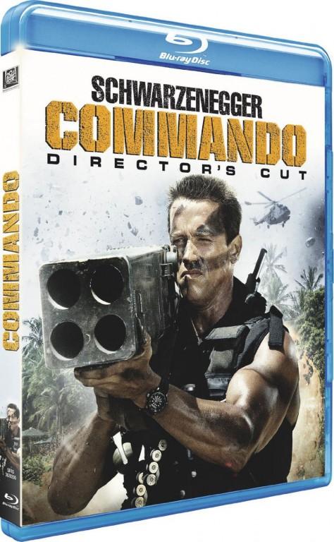 Commando - Cover Blu-ray