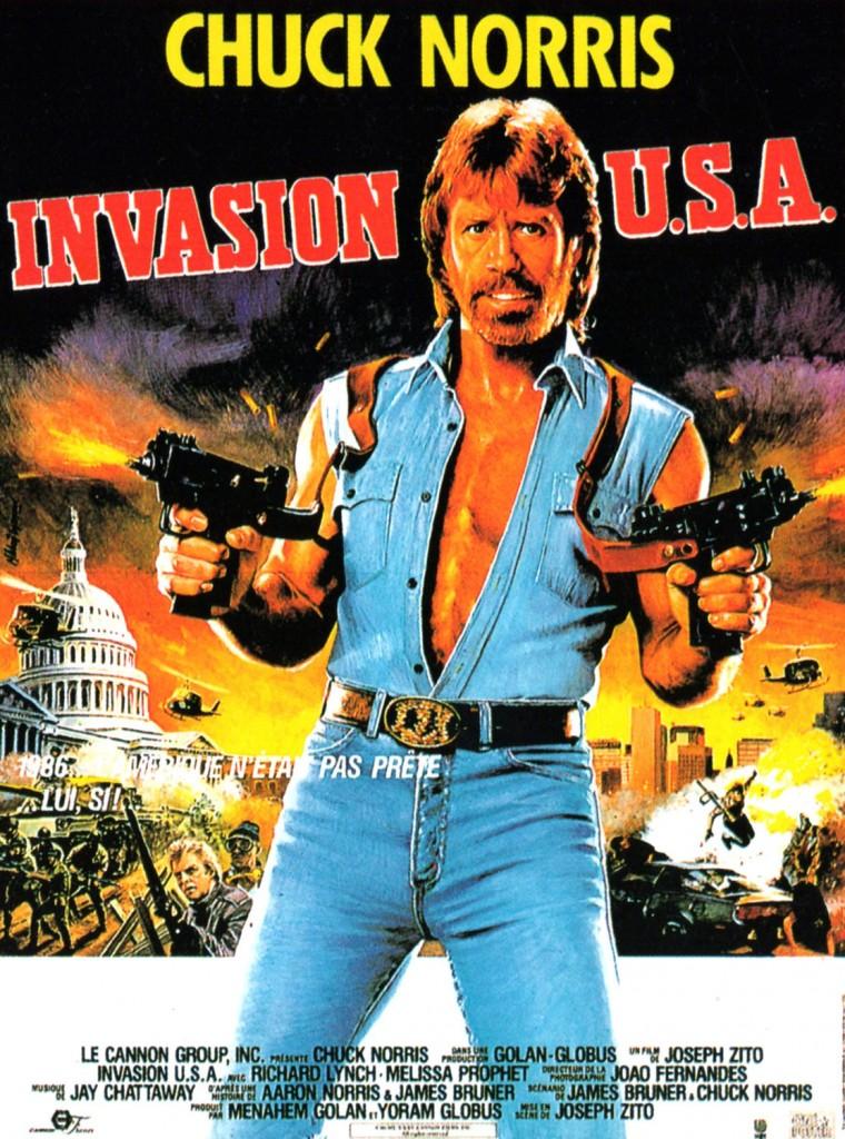 Invasion USA - Affiche France