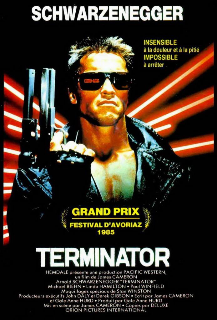 Terminator - Affiche France