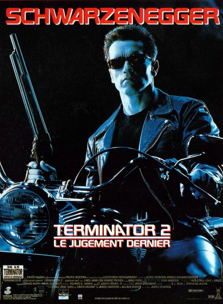 Terminator 2 - Affiche France