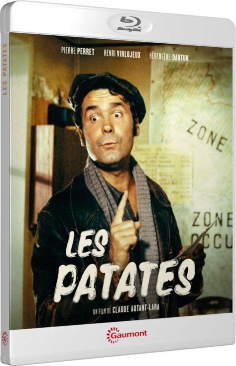 Les Patates - Packshot Blu-ray Gaumont Découverte