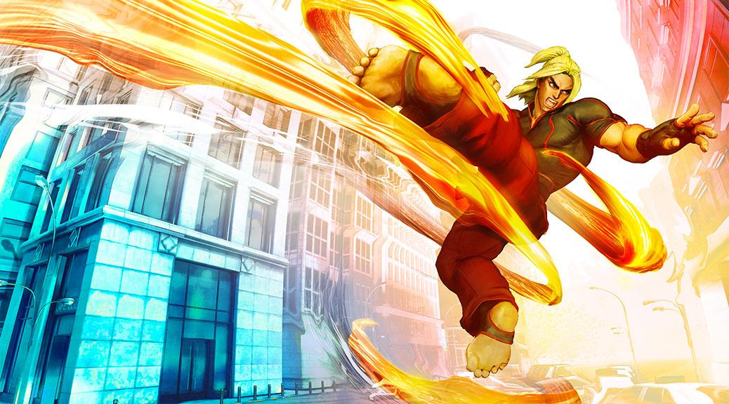 Street Fighter V - Ken
