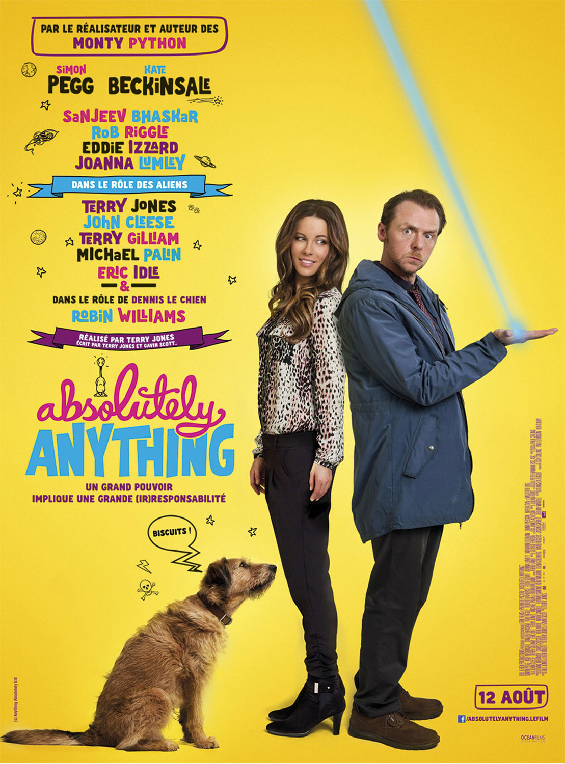 Absolutely Anything - Affiche-française