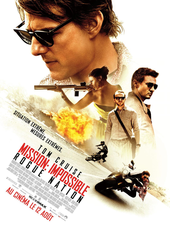 Affiche française - Mission Impossible - Roge Nation