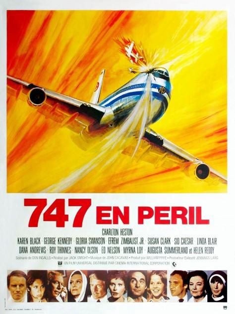 747 en péril - Affiche