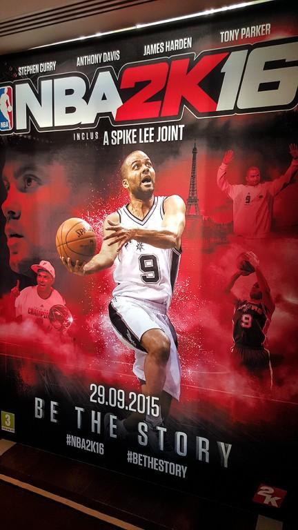 NBA 2K16 - Tony Parker