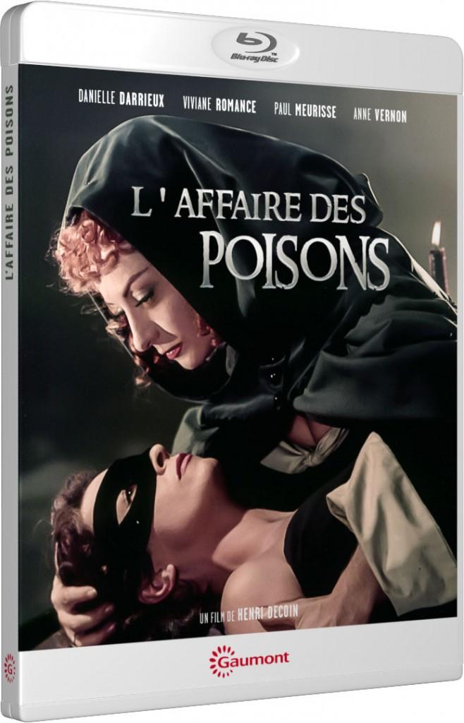 L'Affaire des poisons - Packshot Blu-ray Gaumont Découverte