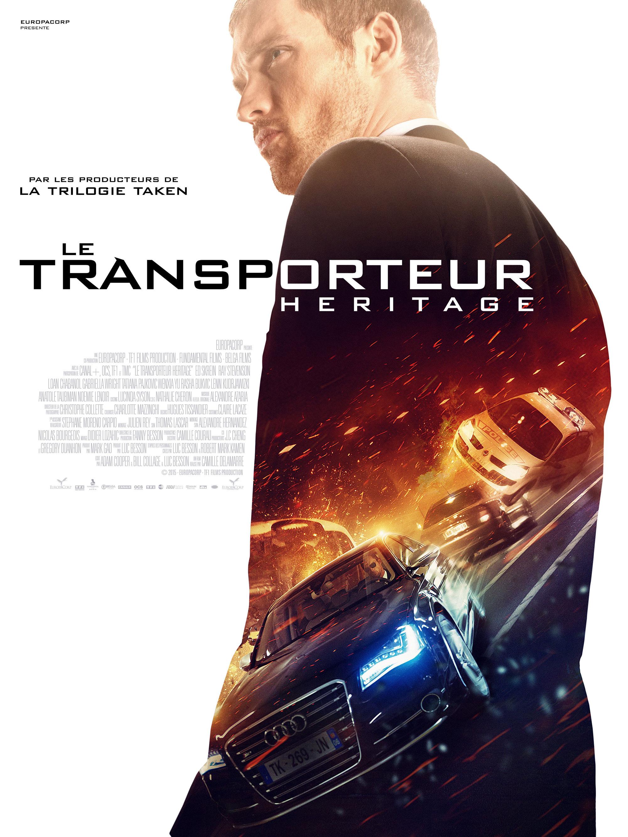 Transporteur héritage- Affiche