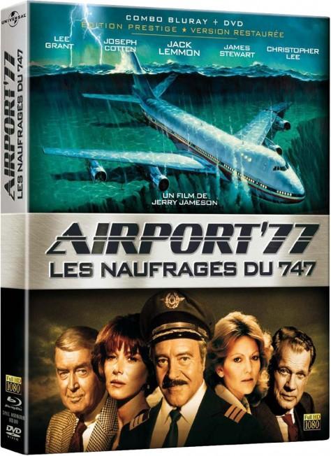 Airport 77 – Les Naufragés du 747 (1976) – Packshot Blu-ray