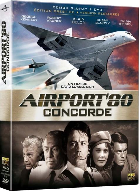 Airport 80 Concorde (1979) – Packshot Blu-ray