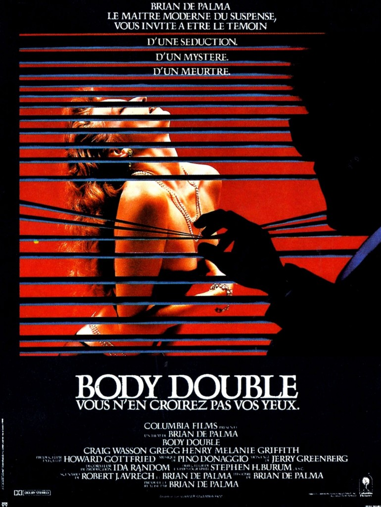 Body Double - Affiche