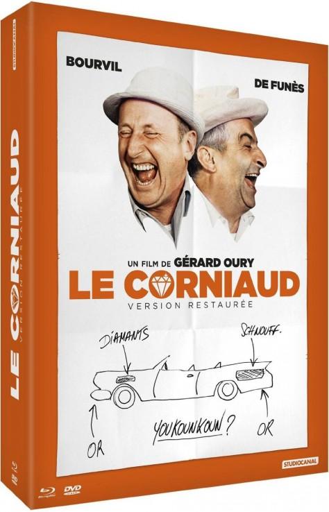 Le Corniaud - Édition Limitée 50ème Anniversaire - Packshot Blu-ray