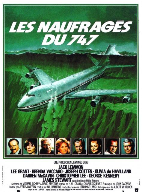 Les naufragés du 747 - Affiche