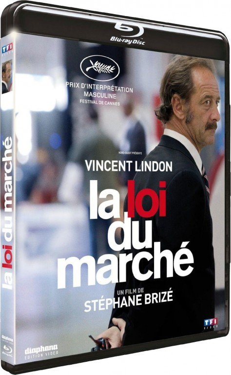 La Loi du marché - Packshot Blu-ray
