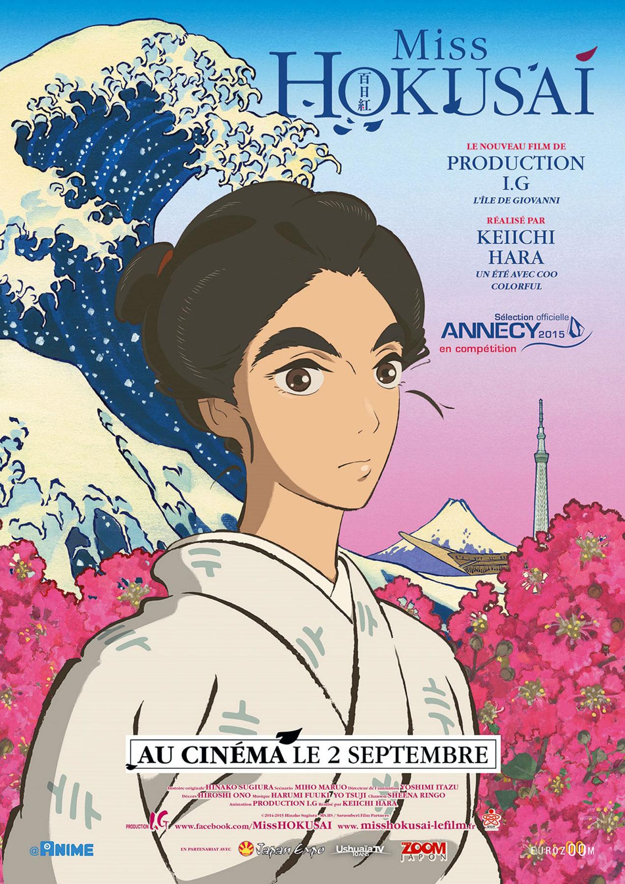 Miss Hokusai - Affiche