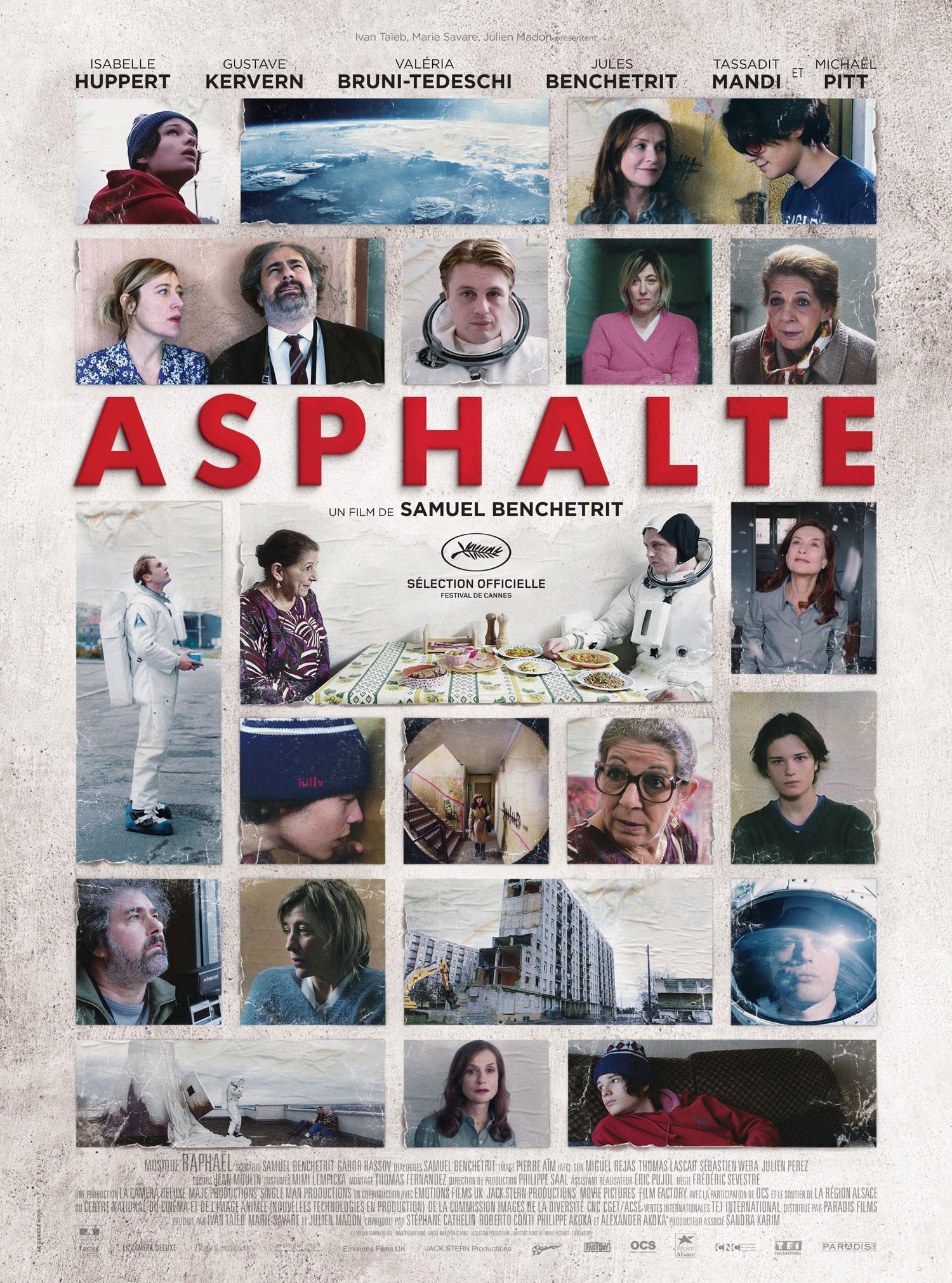 Asphalte - Affiche