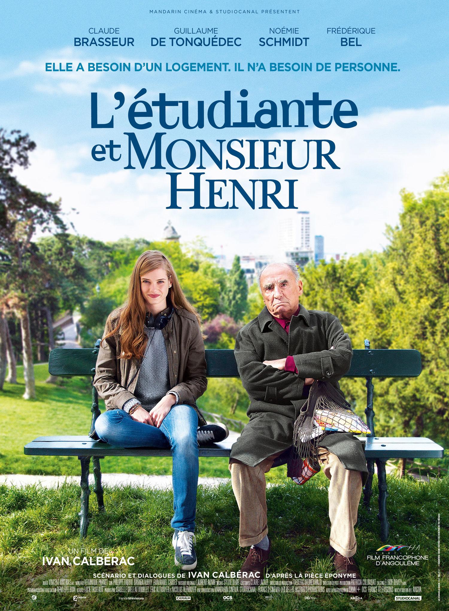 L'Etudiante et Monsieur Henri - Affiche