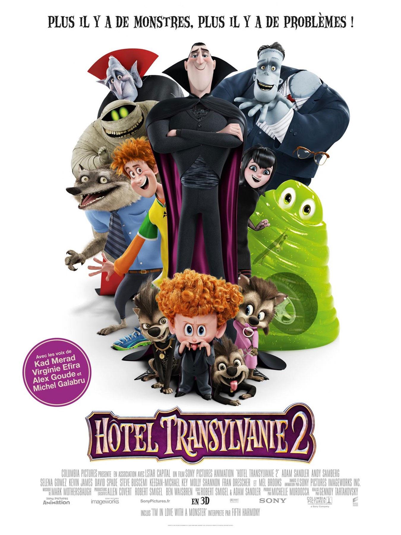 Hôtel Transylvanie 2 Affiche