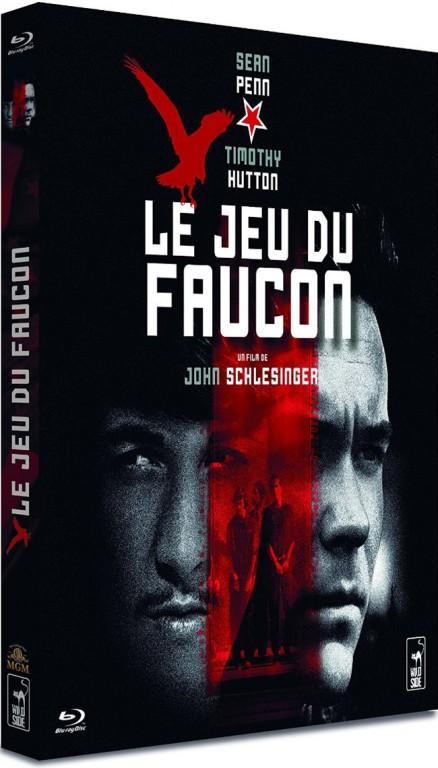 Le Jeu du faucon - Jaquette Blu-ray