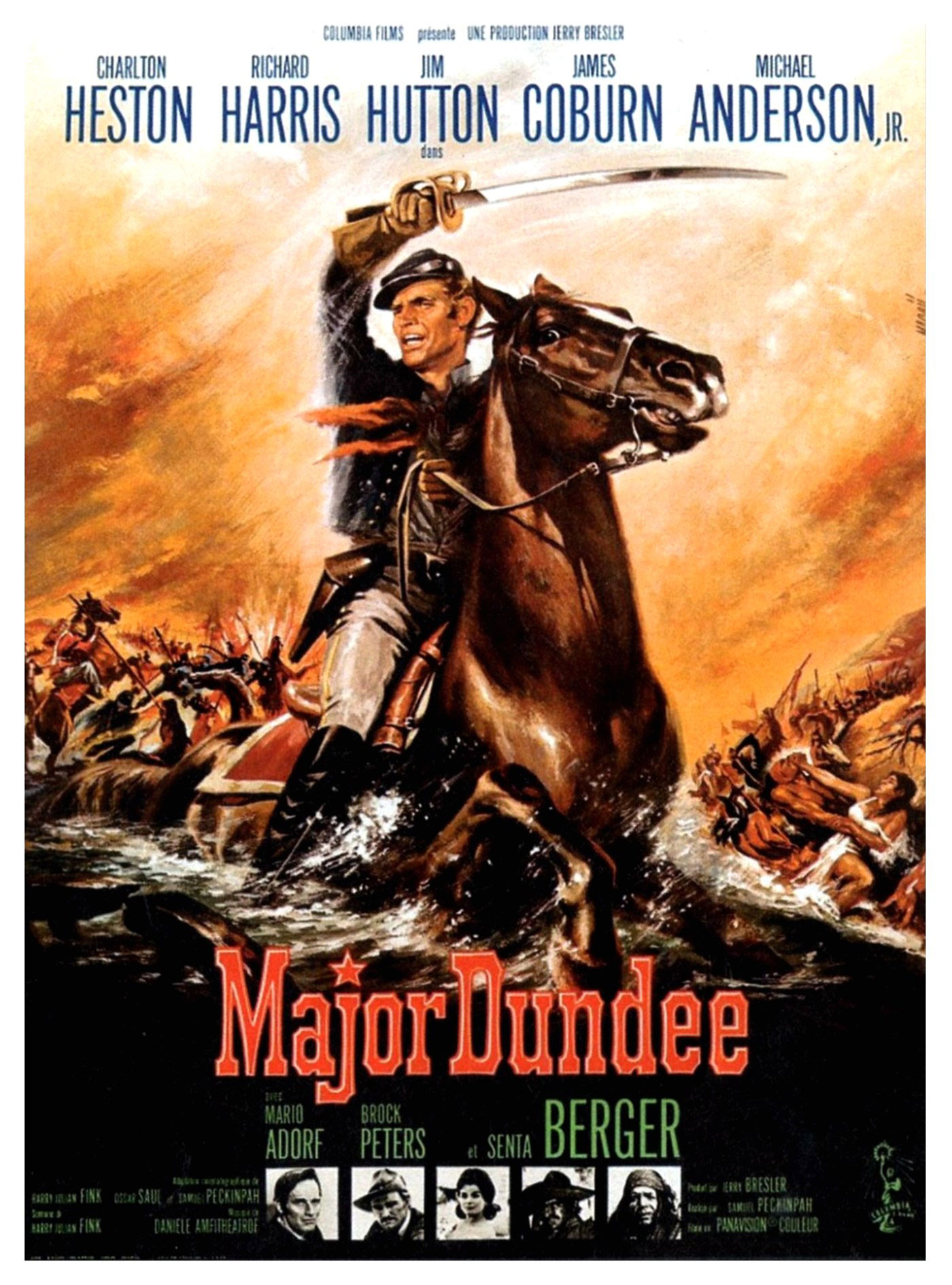 Major Dundee - Affiche