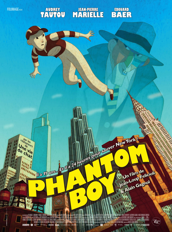 Phantom Boy - Affiche