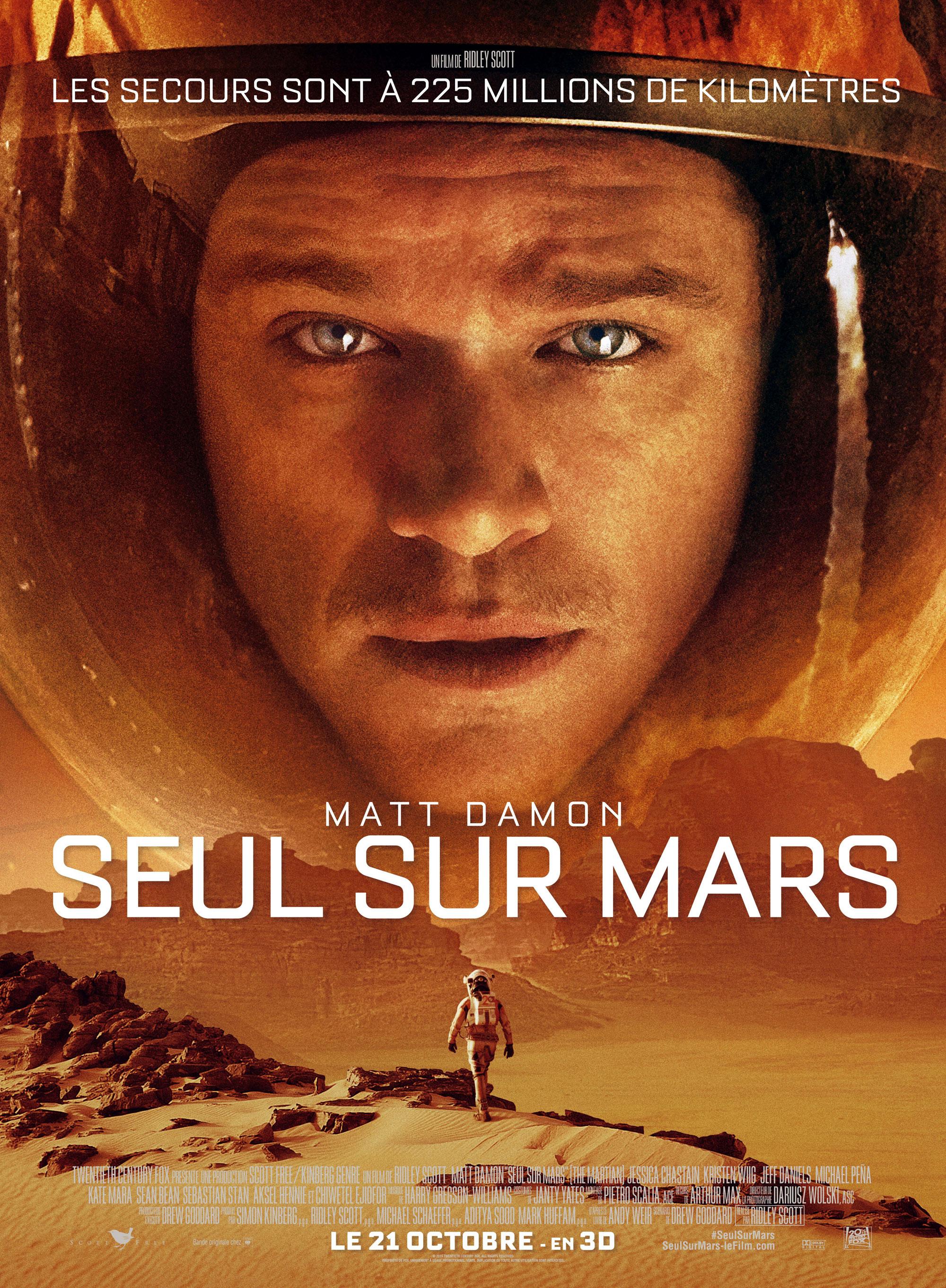 Seul sur Mars - Affiche française