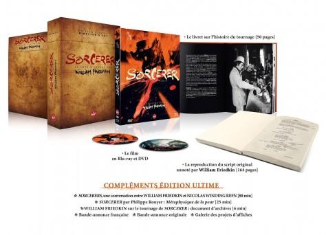 Sorcerer - Blu-ray - Annonce Presse