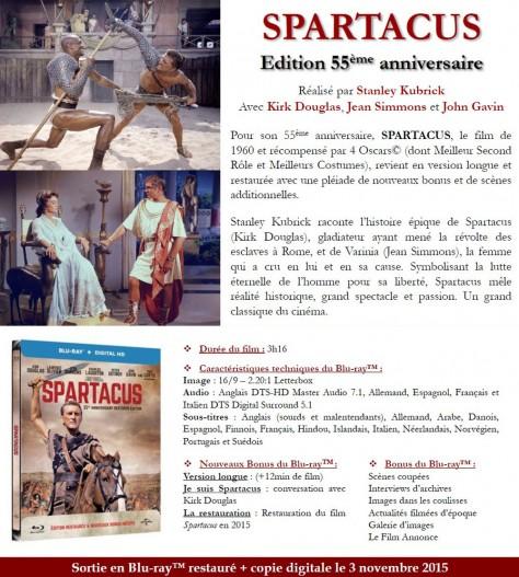 Spartacus - DP Blu-ray